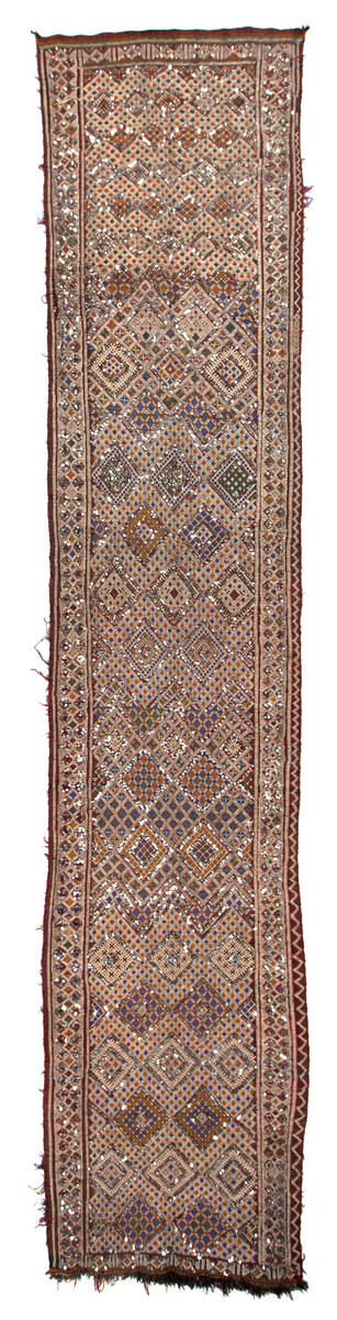 Zaine Tent Band or Caravan Cover (Berber People. the Kingdom of Morocco)
