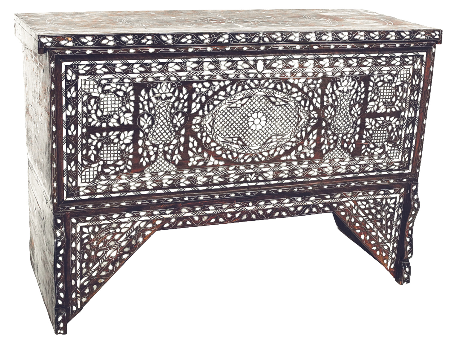 Inlaid Dresser, Mother-of-Pearl (City of Damascus)